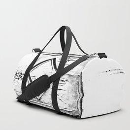 Madera vieja (Old wooden) Duffle Bag