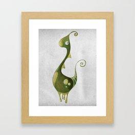 Hello Earthling! 1 of 10 Framed Art Print