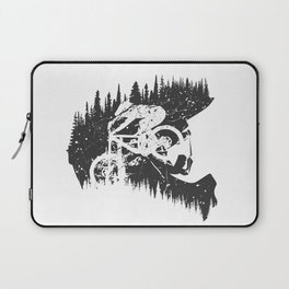 Black Fullface Laptop Sleeve