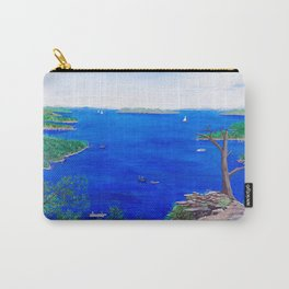 Scenic lake view Carry-All Pouch