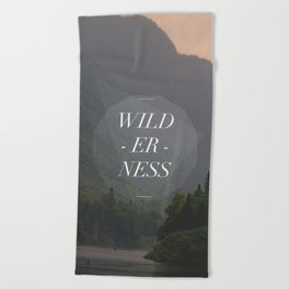 WILDERNESS — Beach Towel