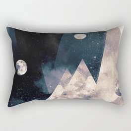 Escape, from planet earth Rectangular Pillow