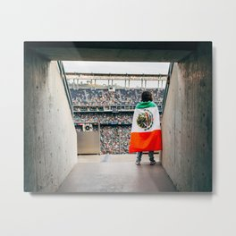 Mexico vs. El Salvador Metal Print