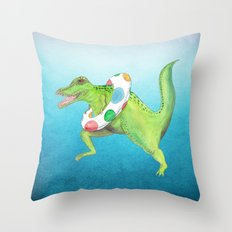 Swim Team Throw Pillow