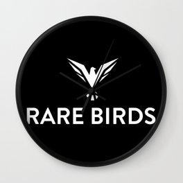 Rare Birds Wall Clock