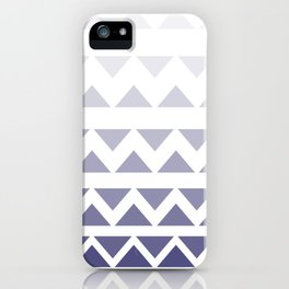 Relaxing triangles iPhone Case