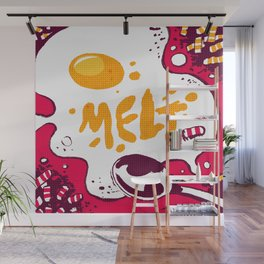 Melt by Madrica Wall Mural
