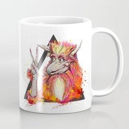 Peace of the Firey Coffee Mug