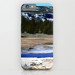 Castle Geyser-Yellowstone iPhone Case
