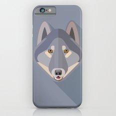 Gray wolf iPhone 6s Slim Case