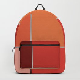 Squares , patchwork 6 Backpack