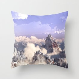 Cloud Canyon Throw Pillow