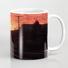 Sunset Railroad Mug