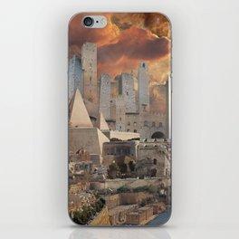 Ancient Fantasy City iPhone Skin