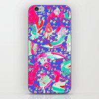 fancy iPhone & iPod Skins featuring Fancy by Caroline Sansone