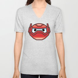 Robot in Disguise Unisex V-Neck