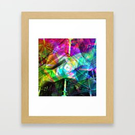 Better the real than the spare in any case, innit! [RGB] Framed Art Print
