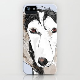 Saluki iPhone Case