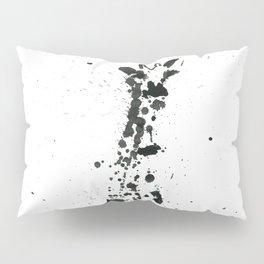 Giraffe ink splatter Pillow Sham