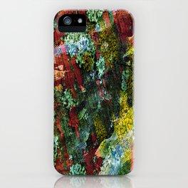 texture paint peeling weathered iPhone Case