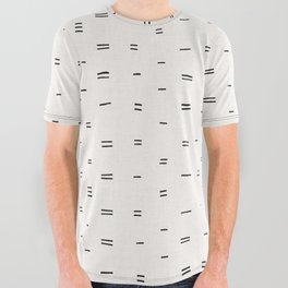HAMMAH MUDCLOTH All Over Graphic Tee