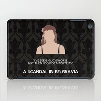 scandal iPad Cases featuring A Scandal in Belgravia - Molly Hooper by MacGuffin Designs