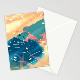 heaven river Stationery Cards
