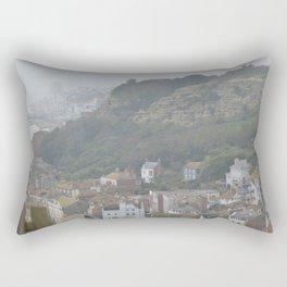 Mountainside-city Rectangular Pillow
