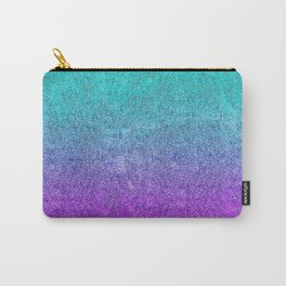 Tropical Twilight Glitter Gradient Carry-All Pouch