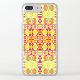 Colorful Life 39 Clear iPhone Case