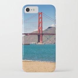 San Francisco, Golden Gate Bridge iPhone Case