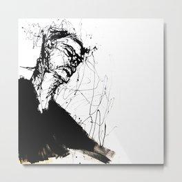 Head I Metal Print