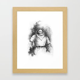 The Spooky Kook from Outer Space Framed Art Print