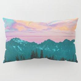 Holographic Sky #digitalart #nature Pillow Sham