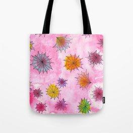 #023 - Pink Webs Tote Bag