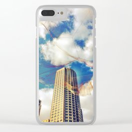 Nets Clear iPhone Case
