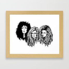 Eastwick  Witches Framed Art Print