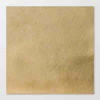 sand Canvas Prints featuring Sand by Patterns and Textures