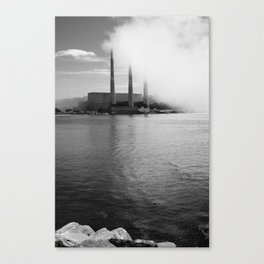 Reflected (B&W) Canvas Print