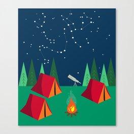 Let's Stargaze. Canvas Print
