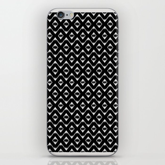 Southwestern in Black and White - You Can Ride It iPhone Skin