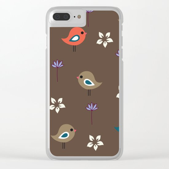 Cute Pattern 5 Clear iPhone Case