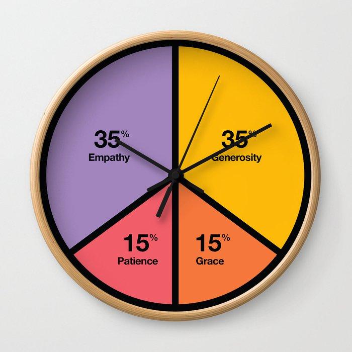 Time Peace Wall Clock