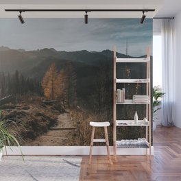 Autumn Hike - Landscape and Nature Photography Wall Mural