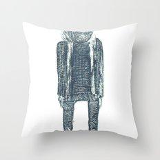 monsieur poire Throw Pillow