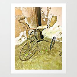 Once Upon a Time - Toy Trike Art Print