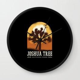 JOSHUA TREE PARK Wall Clock