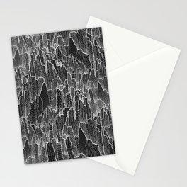 The dark rocks Stationery Cards