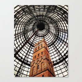 Inside Tower Canvas Print