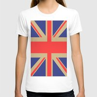 union jack T-shirts featuring Union Jack by MeMRB